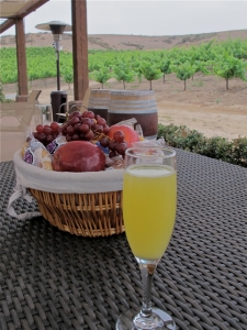 Fruit Basket at a Temecula Winery